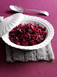 Braised-Red-Cabbage-with-Blackberries