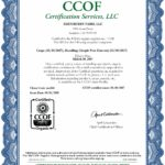 Edenberry Farm CCOF Organic Certification